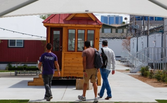 Tiny Houses To Go Pop Up In Downtown Las Vegas Las