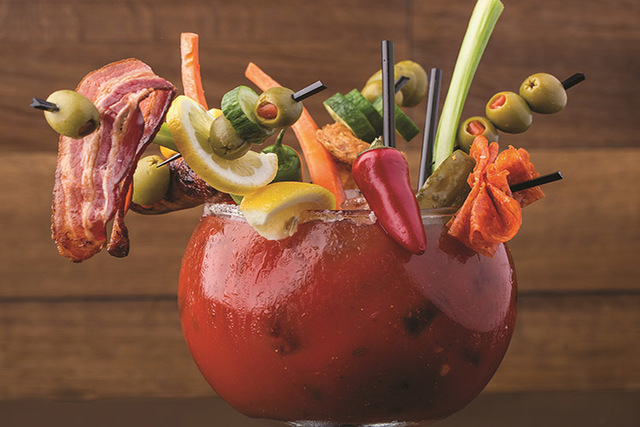 6 Of Vegas Craziest Bloody Marys PHOTOS Las Vegas