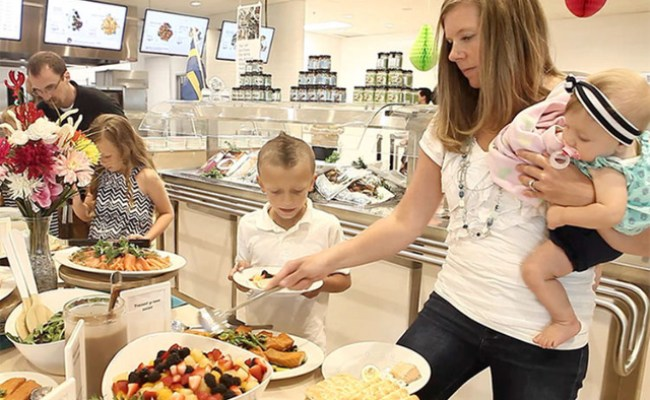 Ikea Hosted An All You Can Eat Midsummer Feast Video