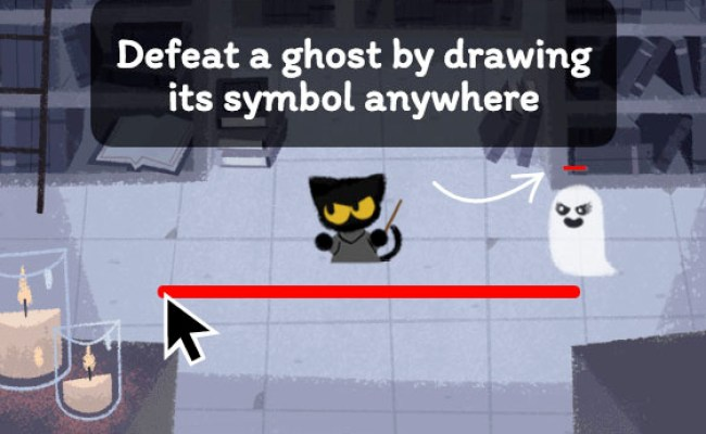 Halloween Google Doodle Is A Harry Potter Inspired Ghost