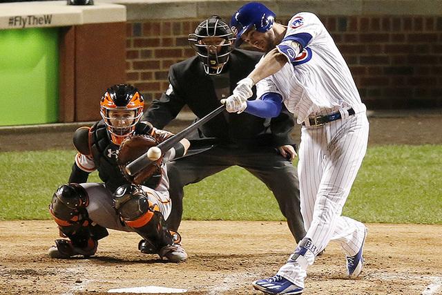 Las Vegan Kris Bryant Named Major League Baseball's National
