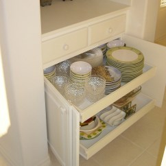 Pull Out Kitchen Cabinet Mexican Style Decor Appliance Garages Shelves Help Organize Las Courtesy Ez Roll Drawers These Are A Handy Place