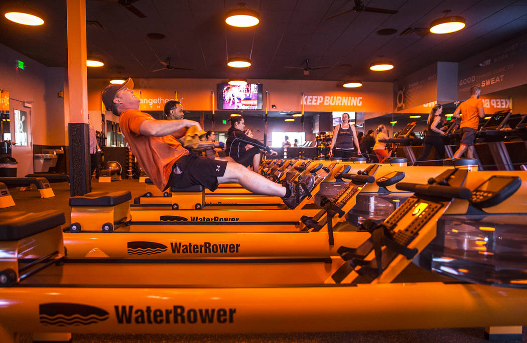 Orangetheory Fitness in Las Vegas shows realtime feedback  Las Vegas ReviewJournal
