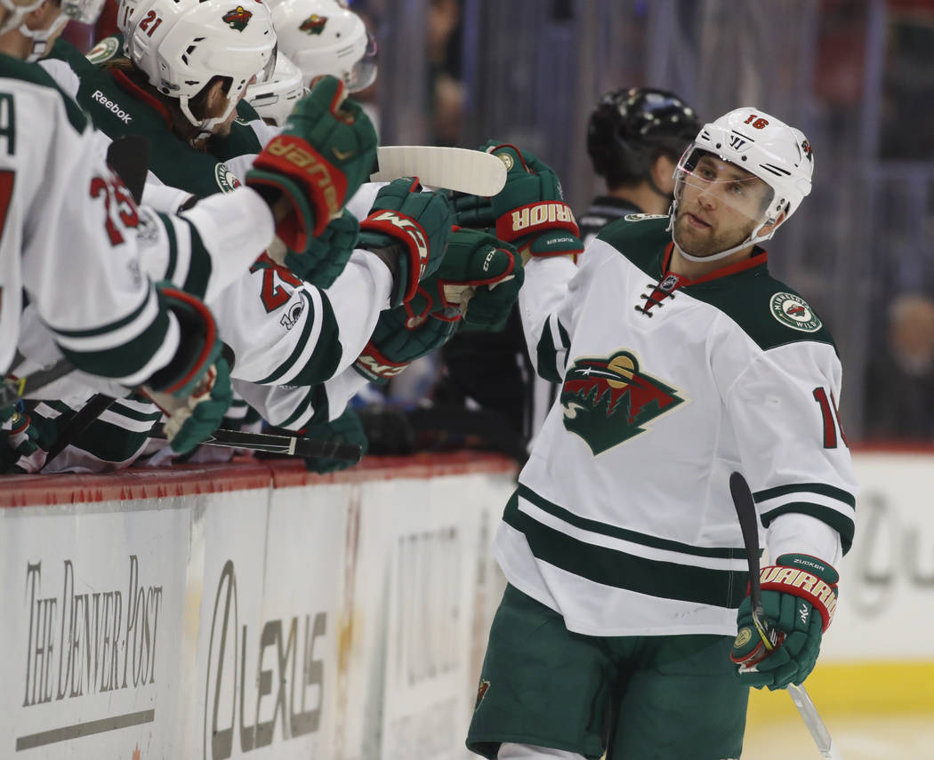 Las Vegas' Jason Zucker To Have Sports Hernia Surgery – Las Vegas