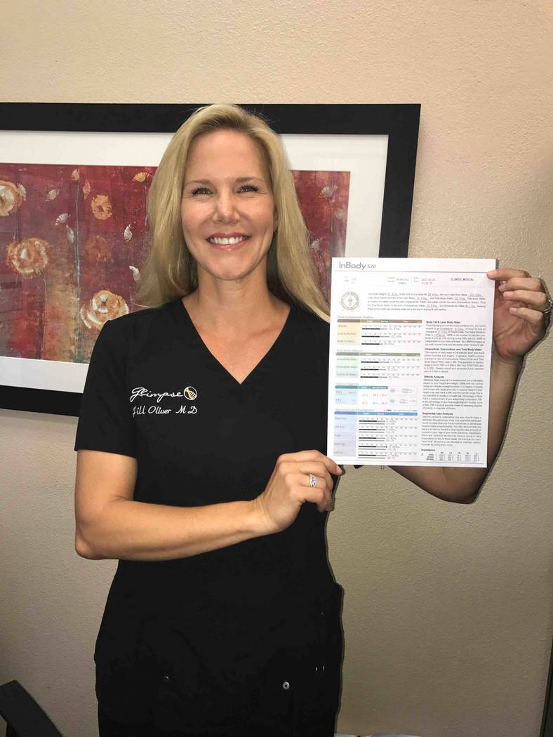 Dr Jill Oliver gets Vegas stars in shape  Las Vegas ReviewJournal
