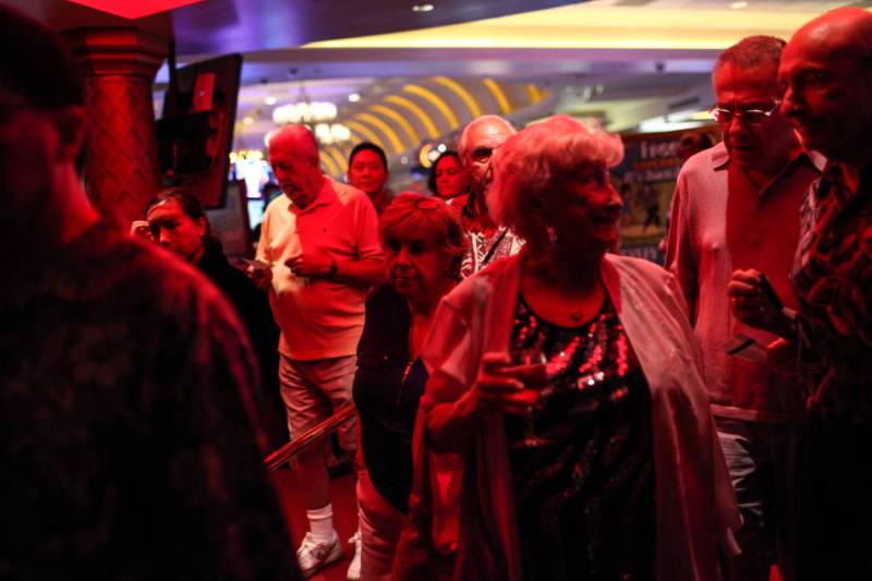Fans line up before Frankie Moreno's concert at the Suncoast Showroom in Las Vegas, Saturday, Sept. 9, 2017. Joel Angel Juarez Las Vegas Review-Journal @jajuarezphoto
