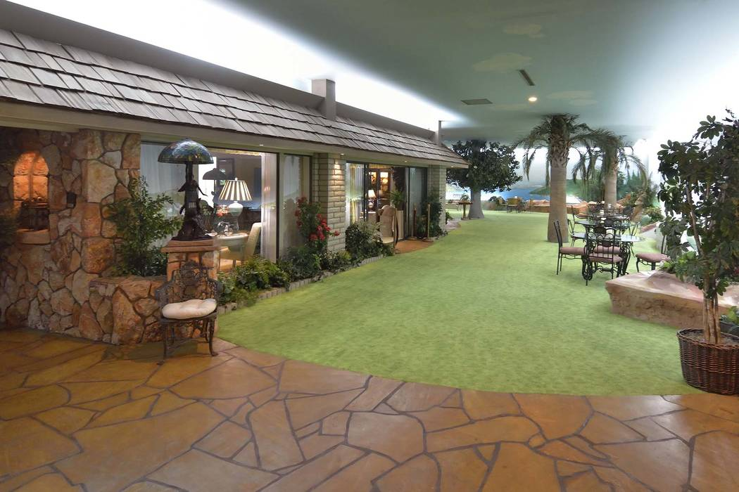famous underground las vegas house to open to public photos