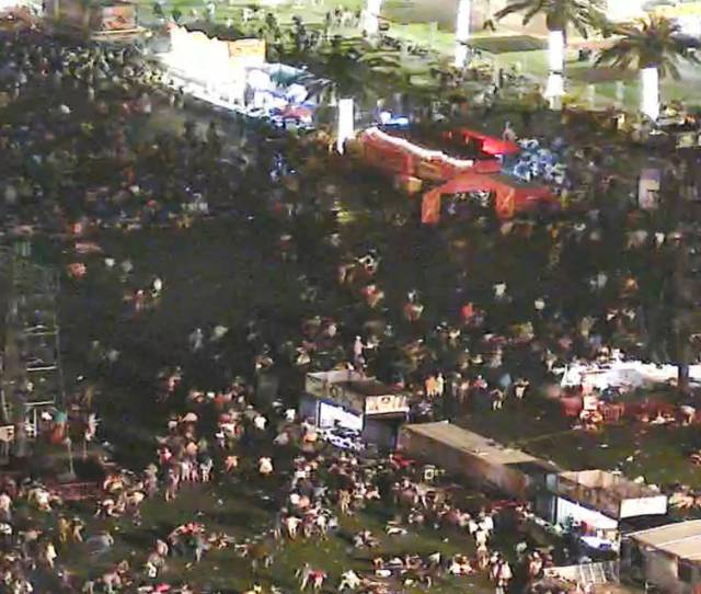 Video From The Night Of The Oct  Shooting Of The Route  Harvest Festival