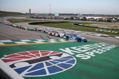 Martin Truex wins Cup race again at Kentucky Speedway ...