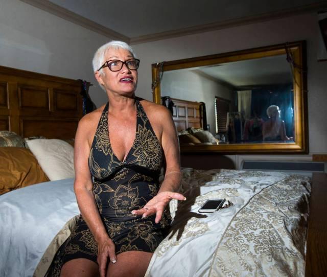 Sonja Bandolik The Madam On The Menu Talks In Her Room At