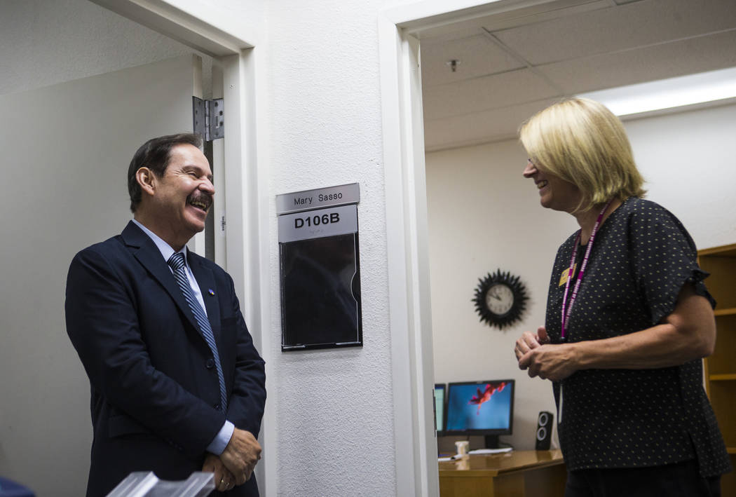 New College of Southern Nevada president has lofty goals | Las Vegas Review-Journal
