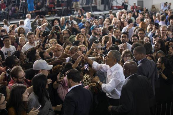 Image result for obama rally las vegas