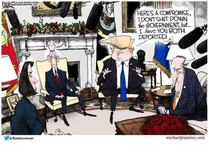 Image result for trump leaving room cartoon