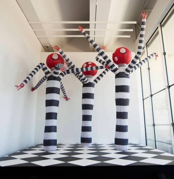 Tim Burton Stage Art Exhibition Las Vegas Museum