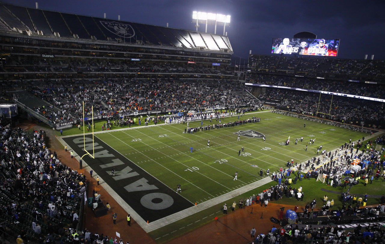 Raiders Mailbag Where Does The Team Play During 2019