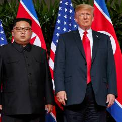 Summit Trophy Chair Review Green Outdoor Covers White House Looks To Tamp Down Expectations For North Korea President Donald Trump Right Meets With Korean Leader Kim Jong Un In Singapore