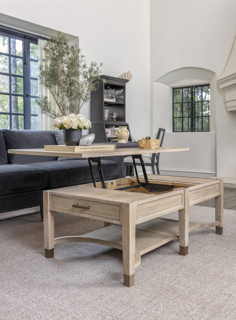 gramercy lift top storage coffee table