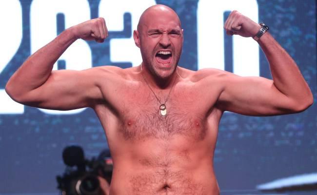 British Boxer Tyson Fury Thrives In Las Vegas Limelight