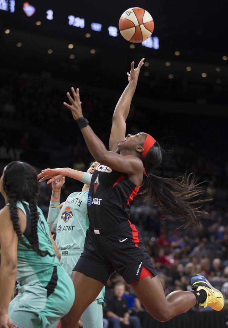 Las Vegas Aces Pay Back Liberty In Rout Video Highlights