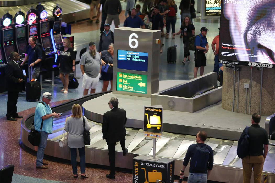 Las Vegas airport not advised to screen passengers for coronavirus ...