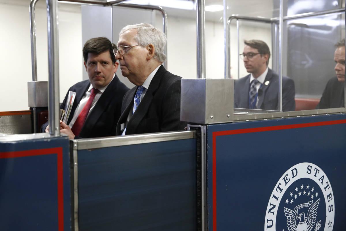 Senate passes House-approved coronavirus relief bill | Las Vegas ...