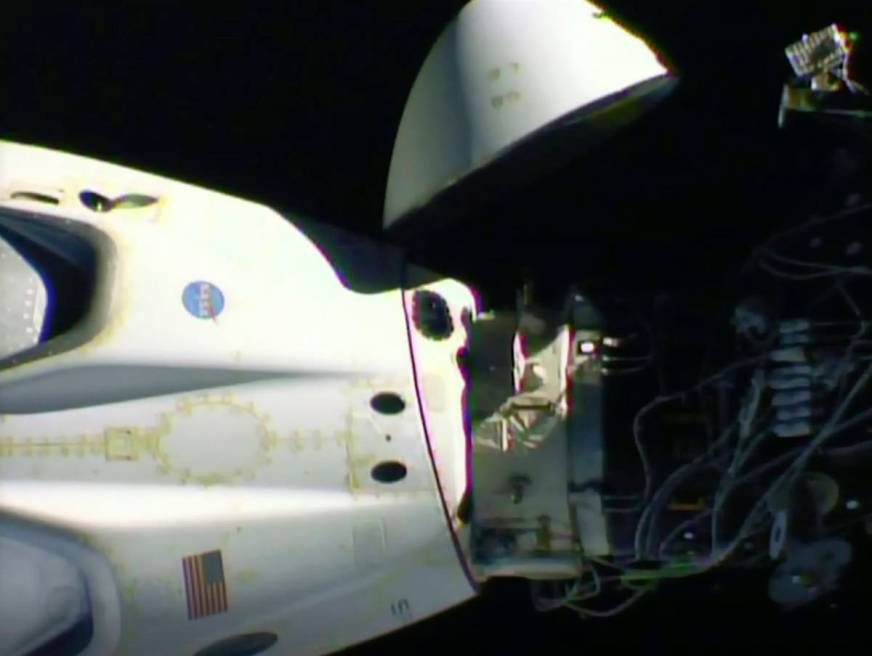 SpaceX flight to bring astronauts back | Las Vegas Review ...