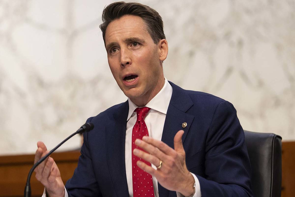 Josh Hawley Blasts Joe Biden: Unity Isn't Forcing Americans to Fund Abortions