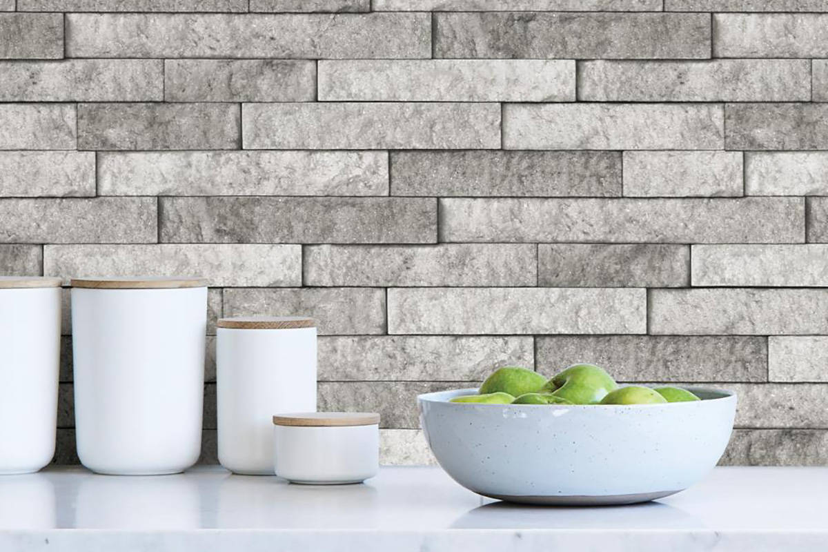 peel and stick tile is inexpensive diy
