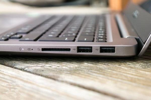 Asus ZenBook UX410UQ Tampak Samping Kanan