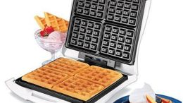 proctor-silex-26050-4-square-belgian-waffle-maker