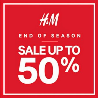 H&M End of Season SALE