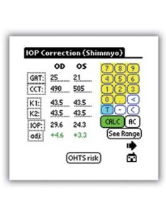 Eyeop will adjust the iop based on central corneal thickness also  digital cheat sheet for glaucoma exams rh reviewofophthalmology