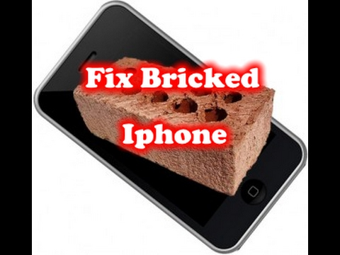 Fix Bricked Iphone! – After Update Iphone does not Work!