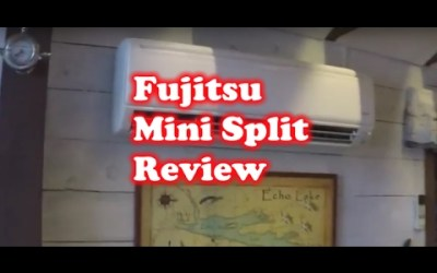 Fujitsu Mini Split with wireless Heat & AC Review