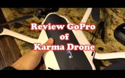 Review of GoPro Karma Drone & Test Flight