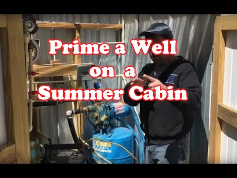 How to Prime the Well on a Summer Cabin
