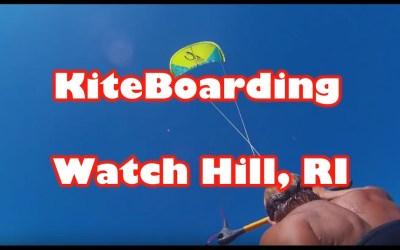 Review of Kiteboarding Spot – Watch Hill. RI