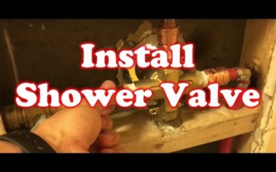 How to Install a American Standard Shower Valve