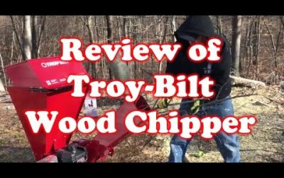 Review of Troy-Bilt Wood Chipper –  CS4325