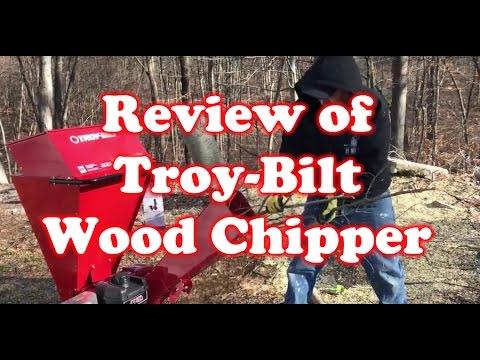 Review of Troy-Bilt Wood Chipper –  CS4325