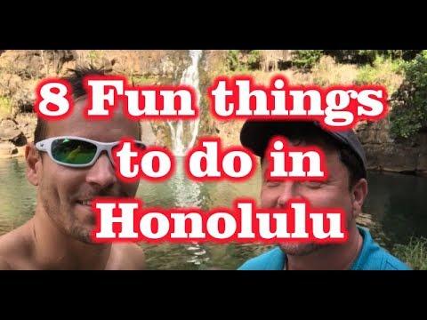 8 Fun things to do in Honolulu, Hawaii