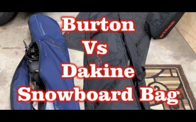 Burton Wheelie Gig Snowboard Bag Vs Dakine Pipe Snowboard Bag