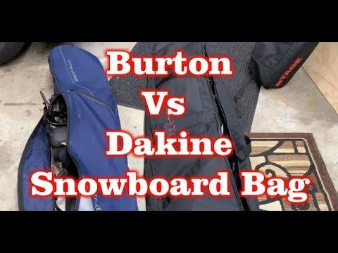Burton Wheelie Gig Snowboard Bag Vs Dakine Pipe Snowboard Bag