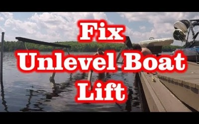 Fix a Unlevel Boat Lift