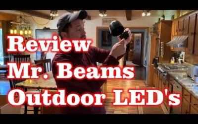 Review of Mr. Beams LED Outdoor Light Wireless Battery Powered
