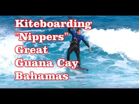 """Kiteboarding Spot – """"Nippers"""" Great Guana Cay, Bahamas"""