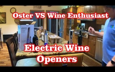 Oster Vs Wine Enthusiast – Amazon Electric Wine Opener Comparison