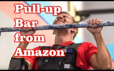 Garage Pull-up Bar from Amazon Assembly