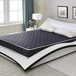 AC Pacific 818-2-TM-N 6 Inch High Density Memory Foam Mattress with Waterproof Cover, Twin, Navy Blue
