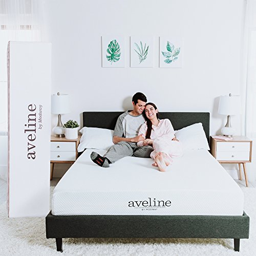 Modway Aveline 10″ Gel Infused Memory Foam Queen Mattress With CertiPUR-US Certified Foam – 10-Year Warranty – Available In Multiple Sizes